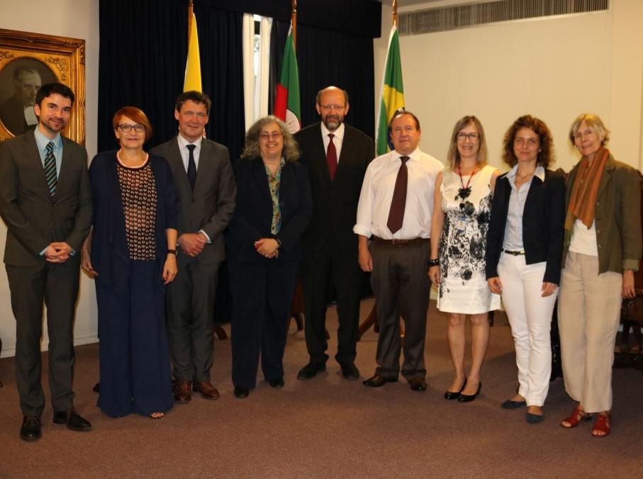 Centro de Estudos Alemães e Europeus é pauta de visita de delegação