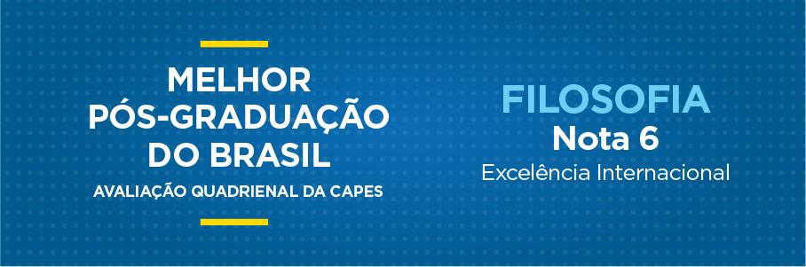 Melhor Pós-Graduação do Brasil - Filosofia, nota 7.