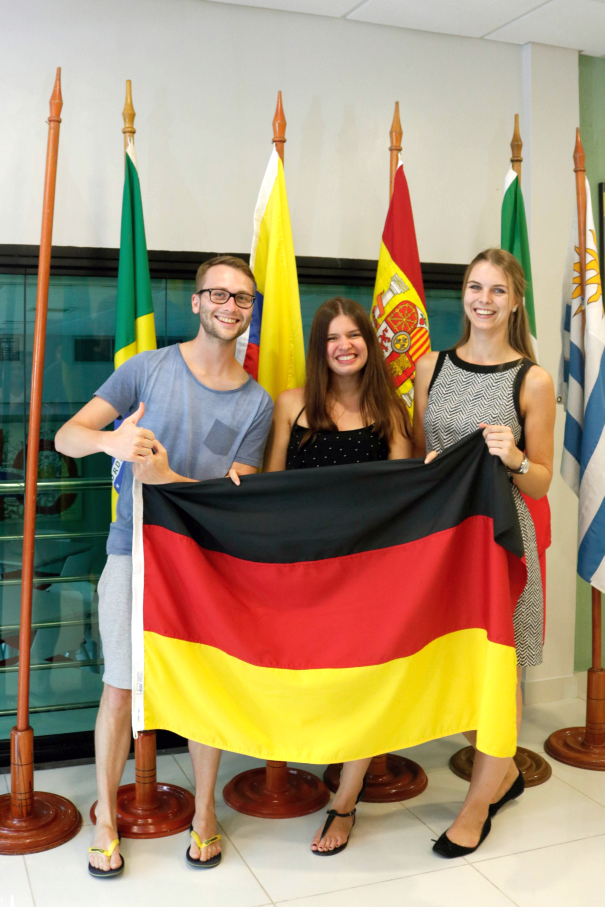 Lea Fischer,Escola de Negócios,Centro de Estudos Europeus e Alemães,CDEA,Universidade Hoschschule Bremen,Mobilidade acadêmica,intercâmbio