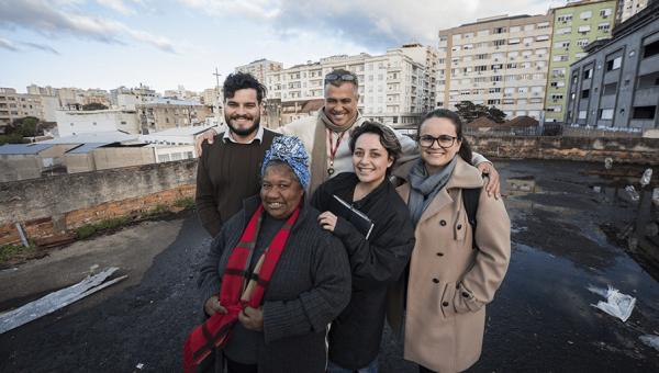 Moradores da Ocupação 20 de Novembro têm apoio do Grupo de Pesquisa Sustenfau