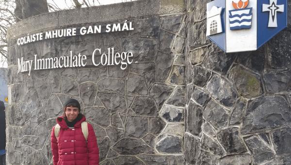 Aluna da Letras recebe bolsa para estudar na Irlanda