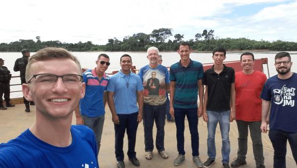 Aluno do curso de Filosofia participa de missão em Rondônia