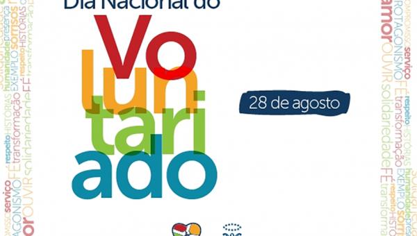 Programação especial comemora Dia Nacional do Voluntariado