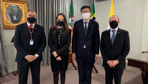 Reitoria recebe a visita do Cônsul do Japão
