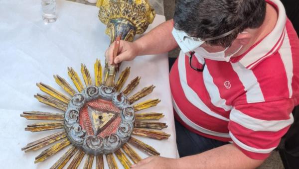 Pesquisador da PUCRS confirma que ostensório jesuíta tem quase 300 anos