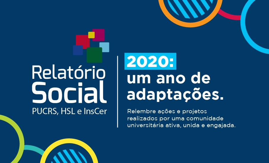Relatório Social 2020: um ano de adaptações