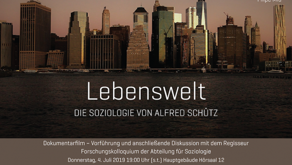 Brazilian film about Alfred Schütz on exhibit in Germany