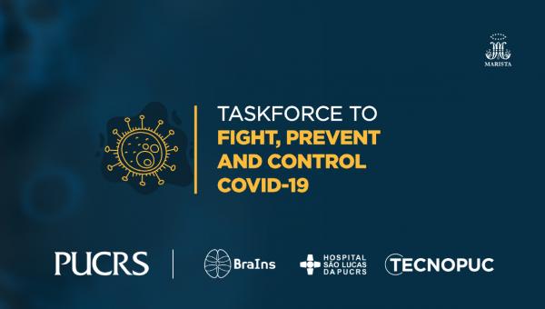 Multidisciplinary Covid-19 taskforce assembled at PUCRS