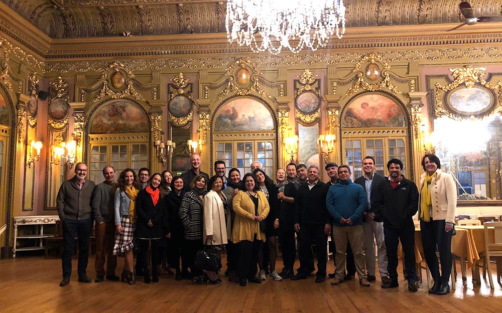 Primeira reunião de coordenação do projeto, realizada em Lisboa entre 4 e 7 de janeiro de 2020