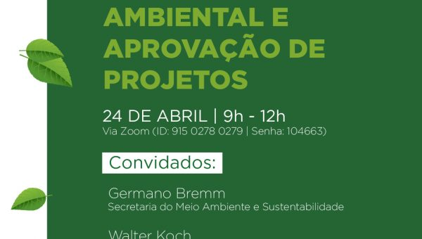 Mesa redonda debate sobre licenciamento ambiental e aprovação de projetos