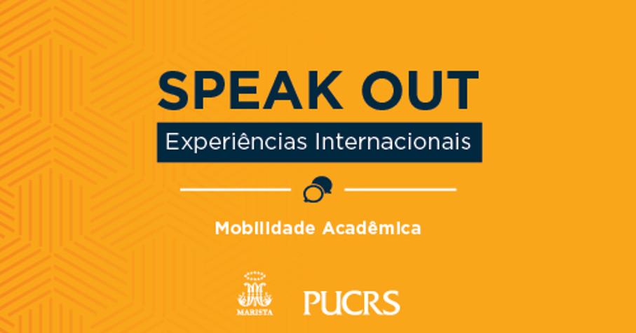 Imagem sobre o Speak out evento experienciais internacionais