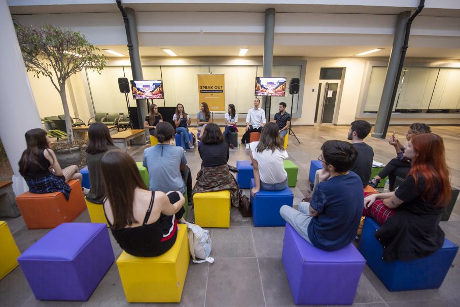 speak out, experiências internacionais, mobilidade acadêmica, escritório de cooperação internacional, internacionalização, alunos, intercambistas, intercâmbio