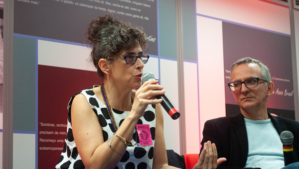 Escritora portuguesa lança livro sobre o Brasil no Instituto de Cultura