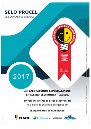 CERTIFICADO_PROCEL_2017_ILUMINAÇÃO