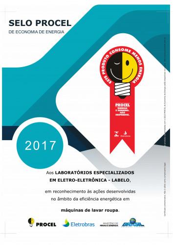 CERTIFICADO_PROCEL_2017_LAVADORA