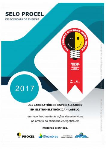 CERTIFICADO_PROCEL_2017_MOTORES