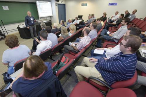 Diretor do Labelo destaca a importância da PUCRS sediar a reunião da IEC/Foto: Bruno Todeschin