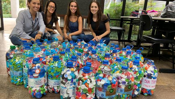 Alunos de medicina surpreendem em arrecadações para o Trote Solidário 2019