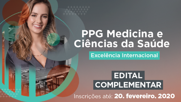 Programa de Pós-Graduação em Medicina e Ciências da Saúde lança edital complementar