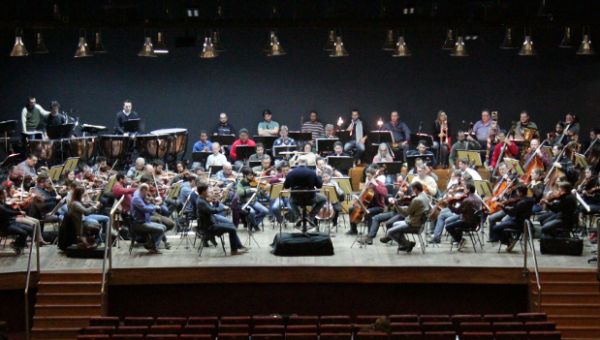 Concerto une Orquestra Filarmônica da PUCRS e Orquestra Sinfônica da UCS