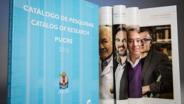 Mostra itinerante divulga o Catálogo de Pesquisas na Universidade