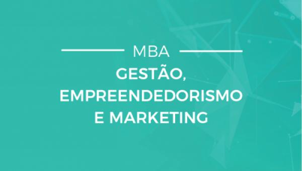 Gestão, empreendedorismo e marketing em novo MBA