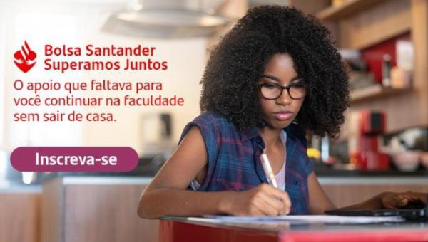 Superamos Juntos: inscreva-se para a bolsa de apoio universitário do Santander Universidades