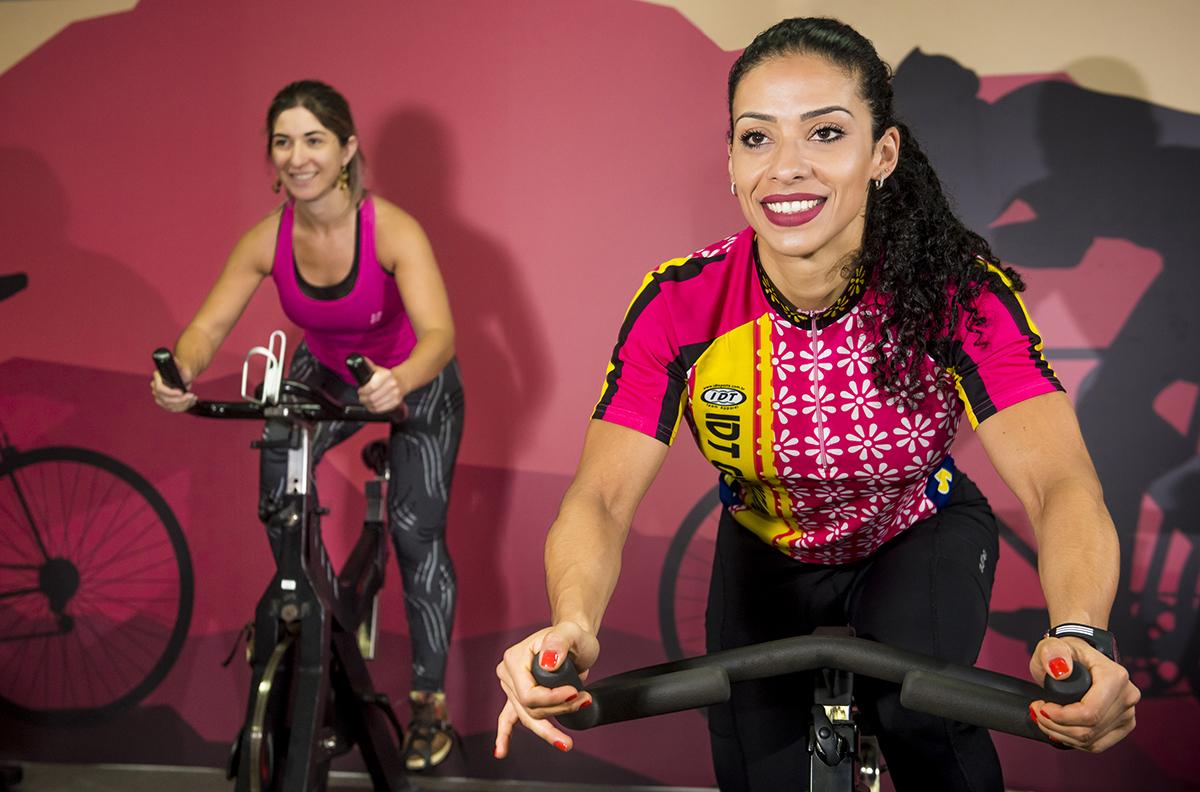 Aula de Bike indoor