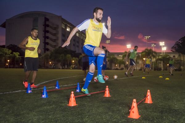 Aula de Soccer training