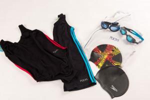 Vestuário para natação