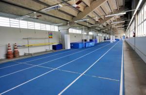 Estádio Universitário – pista de atletismo indoor