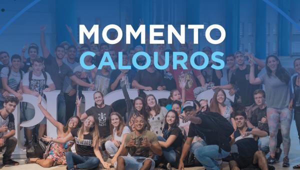 Momento Calouros prepara acolhida aos novos universitários