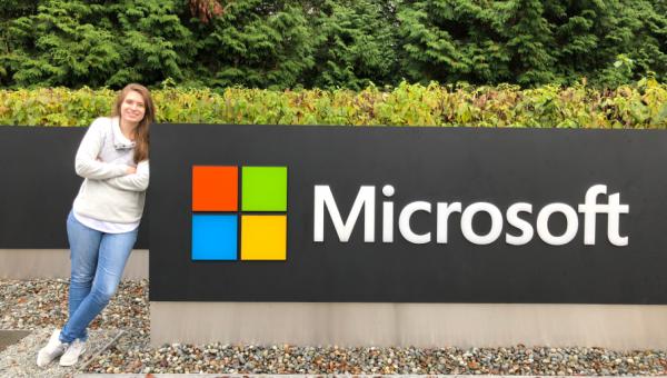 Aluna de Ciência da Computação é contratada pela Microsoft