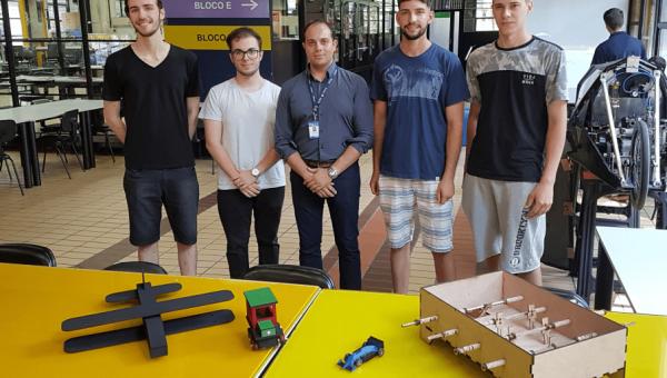 Alunos criam brinquedos em disciplina de Introdução à Engenharia Mecânica