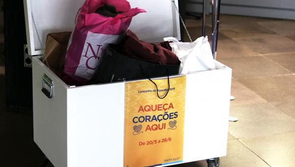 Campanha do Agasalho 2019 recebe doações no Campus