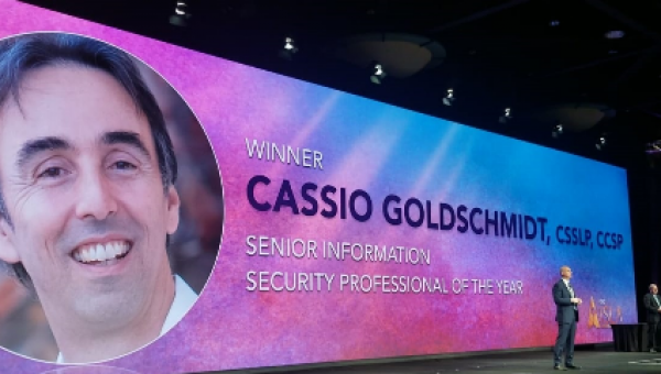 Diplomado é eleito melhor executivo de Segurança da Informação de todas as Américas