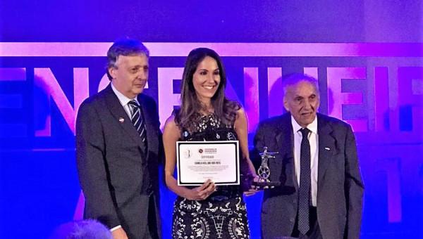 Aluna de Engenharia de Computação vence prêmio de destaque acadêmico da Sergs
