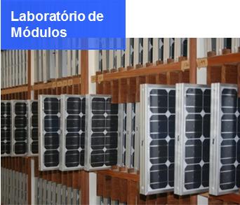 Laboratório de Módulos Fotovoltaicos
