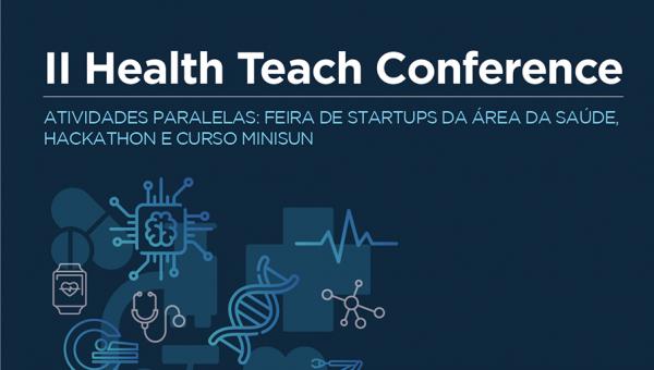 Health Tech Conference tem início nesta sexta-feira