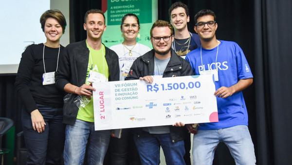 Alunos representam a PUCRS em competição de startups do Comung