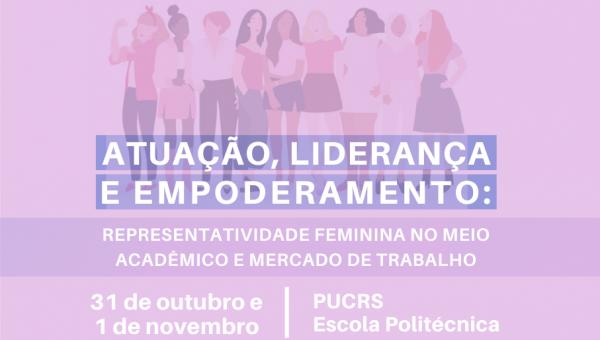 Representatividade feminina é tema de evento promovido pelas Gurias da Politécnica