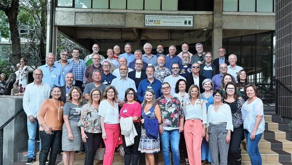 Reencontro marca os 40 anos de formatura dos cursos de Engenharia