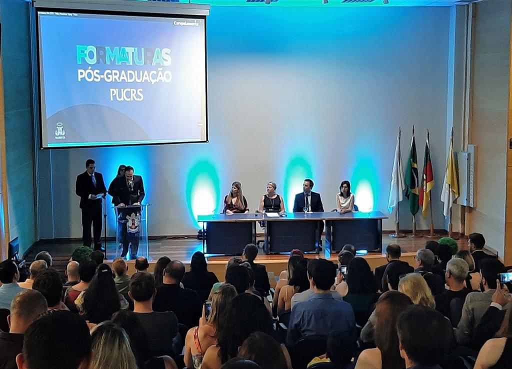 Discurso dos Oradores dos Programas de Pós-Graduação da Escola Politécnica