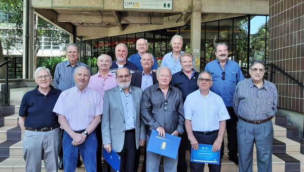 Missa celebra os 50 anos de Formatura do curso de Engenharia Mecânica