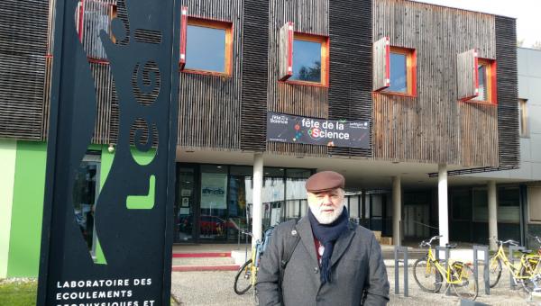 Professor da PUCRS atua como pesquisador visitante na Université Grenoble Alpes, França