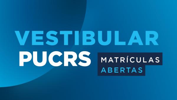 Parabéns aos aprovados no Vestibular da PUCRS