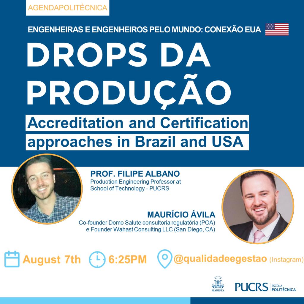 Drops da Produção - edição com diplomado Eng. Maurício Ávila