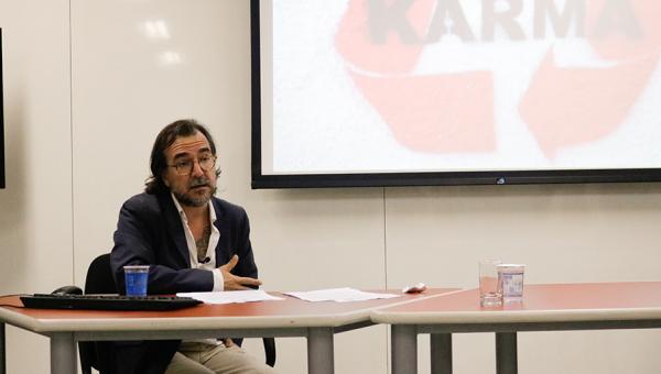 Professor visitante aborda tecnopolítica e direitos humanos em atividades na PUCRS