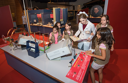 Férias no Museu,Museu de Ciências e Tecnologia