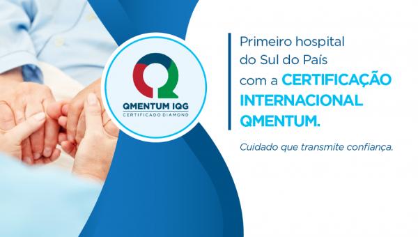 Hospital conquista inédito reconhecimento internacional